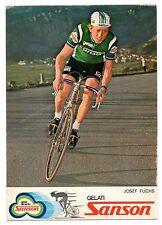 JOSEF FUCHS SANSON CICLISMO CYCLISME CYCLING BICICLETTA