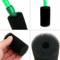 2pc Aquarium Fish Tank Black Cotton Filter Foam Sponge Pond Protector