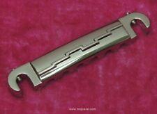 Lightning Bolt Wraparound Bridge - UN-AGED NICKEL Vintage Gibson SG Jr MojoAxe