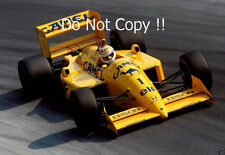 Nelson PIQUET CAMEL TEAM LOTUS 100t ITALIANO Grand Prix 1988 Fotografia