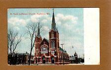 Appleton,WI Wisconsin St. Pauls Paul's Lutheran Church