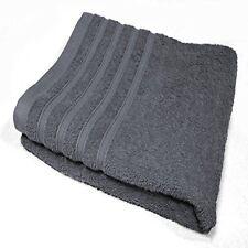 Serviettes, draps et gants de salle de bain peignoirs gris coton