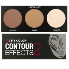 City Color Contour Effects 2 Palette 2 - Contour, Bronze & Highlight