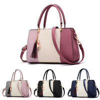 Women Leather Handbags Shoulder Messenger Satchel Crossbody Lady Tote Bag Purse
