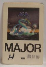 Asia / Yes / Emerson Lake Palmer - Original Cloth Tour Backstage Pass *Last One*