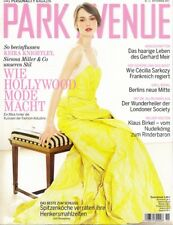 KEIRA KNIGHTLEY - Vintage German PARK AVENUE Magazine dated November 2007
