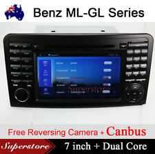 "7"" Car DVD GPS Navigation for Mercedes Benz ML GL Class ML320 ML350 Android 5.1"