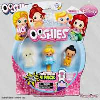 Ooshies Disney Princess 4-Pack Wave 1 Mix 3 - 4 Pencil Topper Figures