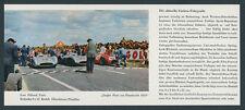 orig. Reklame Kodak Farbfoto Start Mercedes W 196 Silberpfeile Fangio Reims 1954