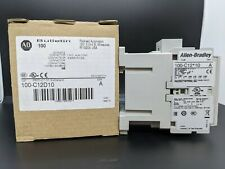 ALLEN-BRADLEY 100-C12D10 IEC CONTACTOR 12AMP 120VAC NEW IN BOX