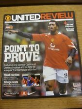 26/01/2005 Football League Cup Semi-Final: Manchester United v Chelsea  . Thanks