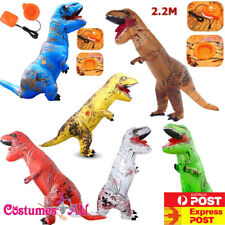 ADULT T-REX INFLATABLE Costume  Blowup Dinosaur TRex T Rex Halloween Mens Outfit