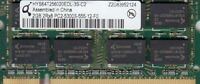 GETAC 323712130003I4237 HYS64T256020EDL-3S-C2 2GB DDR2-667 SODIMM PC2-5300 - NEW