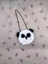 Blythe Doll Bag - Hand Crocheted Panda Bag/purse For Blythe Doll