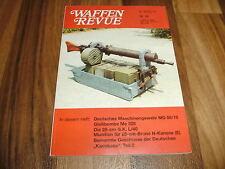 WAFFEN REVUE 88 -- MG 08/15 - deutsche Kamikaze - Gerätliste deutsche Wehrmacht