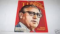9/3/1973 TIME MAGAZINE - Henry Kissinger