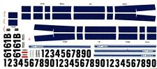 #61B Jerry Titus 1965-66 Shelby Mustang 1/64th Ho Scale Slot Car Decals