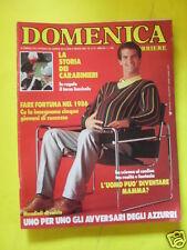 DOMENICA DEL CORRIERE ANNO 88 N. 21/22 31 MAGGIO 1986