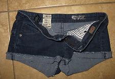 VOLCOM  Jr's Cuffed Jean Denim Shorts Size 1 Sound Check Short short