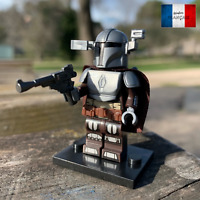 Lego Star Wars Mini Figurine - The Mandalorian Clone Beskar Armor UV Printed