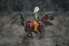(ETA) soldat chef indien à cheval britains en plomb