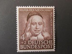 Briefmarke BRD 1953  Nr. 173  ** Helfer der Menschheit