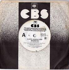 "EARTH, WIND & FIRE - MAGNETIC - RARE 7"" 45 PROMO VINYL RECORD - 1983"