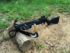 115 lbs  MAD DOG II multifunctional crossbow , steel ball and bolts black