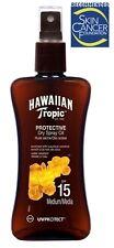 Hawaiian Tropic Sun PROTECTIVE Dry Spray Oil SPF 15 UVA UV Protect With Coconut