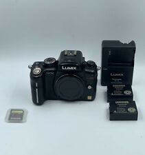 Panasonic LUMIX DMC-GH2 16.0MP Digital Camera Body W/ 2 Batteries and 64GB SD
