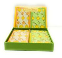 "Pomegranate Bridge Card Gift Set: 2 Decks ""Kennet"" by William Morris - NEW"