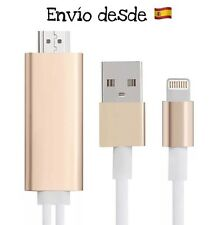 Cable Adaptador HDMI TV HDTV iPhone 5 6 6 Plus iPad Air Mini Pro