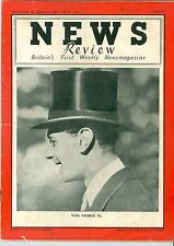 News review   King George  VI February  11 1937