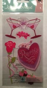 "Jolee's Boutique ""True Romance"" Valentine's Dimensional Sticker"