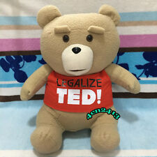 Large LEGALIZE TED Plush Ted2 Ted 2 Stuffed Toy Bear T Shirt Doll 2018 Edition