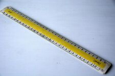 VERULAM Architects Scale Rule by Blundell Harling No 3-v Metric 300mm long