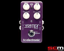 TC Electronic Vortex Flanger Effect Pedal Retooled Electric Acoustic Guitar FX