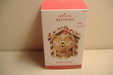 ~PEPPERMINT BARK~MAGIC~MOTION-ACTIVATED SOUND~2013 HALLMARK ORNAMENT