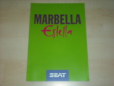 60263) Seat Marbella Estella Prospekt 02/1994
