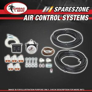 Airbag Man Kit Dual Tyre Inflation And On-Board Air Control Electric AC1041