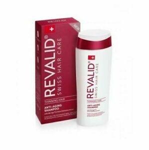 Revalid Anti-Aging Shampoo Thinning Hair slows down greying, stimulates 200 ml