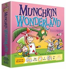 Munchkin Wonderland Board Card Game Steve Jackson Games SJG 1543 Alice in