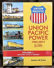 MORNING SUN BOOKS - UNION PACIFIC POWER In Color 1965-2015 Vol. 1 - HC 128 Pages