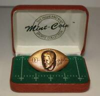 DAN MARINO Highland Mint BRONZE Football Medallion Coin * Limited & Numbered *