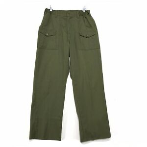 BSA Official Cargo Pants Mens Size 29 x 29 Waist Extra Hem Available READ