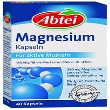 ABTEI Magnesium Kapseln 40St PZN: 7145351