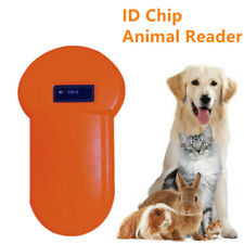 134.2Khz Animal ID Reader LCD Display RFID Portable Pet USB Microchip Scanner