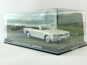 JAMES BOND 007 Collection FORD MUSTANG 'CONVERTIBLE GOLDFINGER' Scale Model Cars