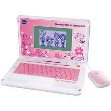 VTech Glamour Girl XL Laptop E/R, Lerncomputer, weiß