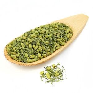 Premium Genmaicha Matcha blended Japanese Green Tea Fukamushi Loose Leaf